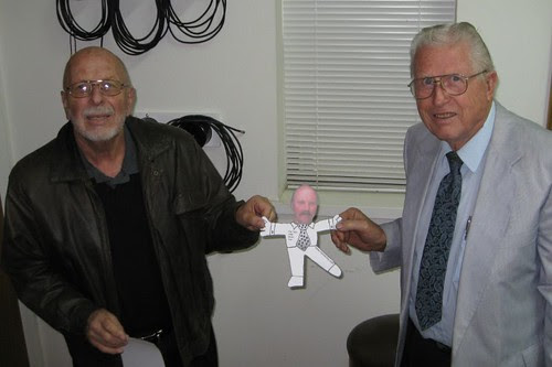 Flat Tony with Larry and Daddy