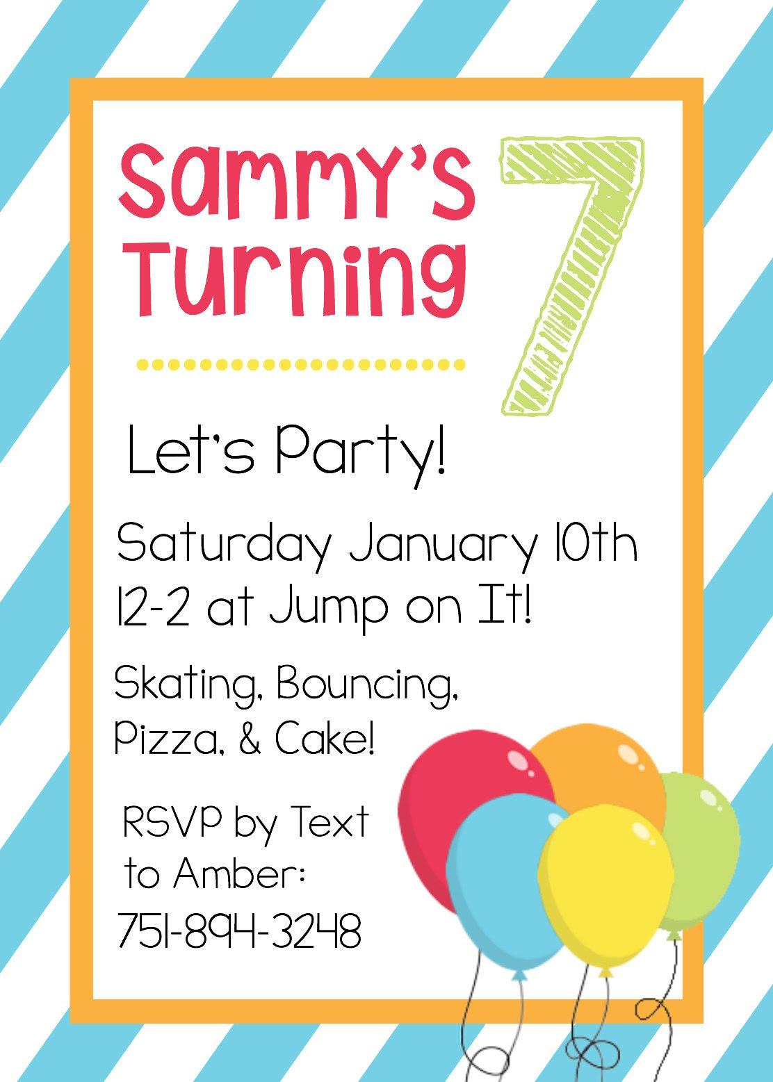 17+ Kids Party Invitation Designs & Templates - PSD