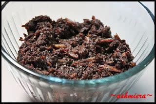 resepi masakanku sambal hitamsambal belimbing