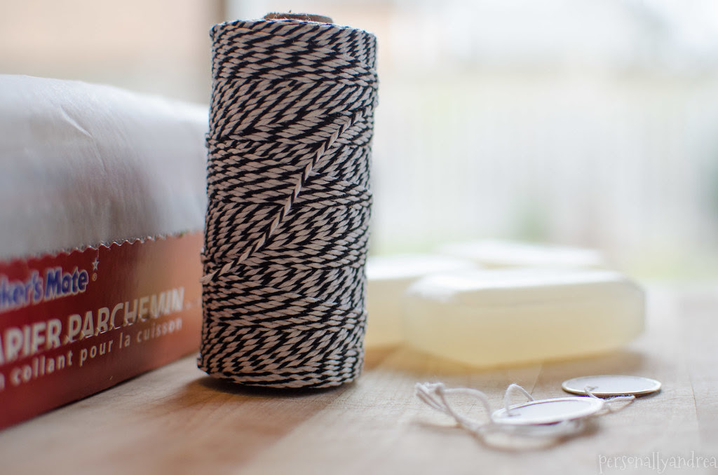 How To Make a Spa Style Soap Tin Gift | personallyandrea.com