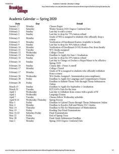 Brooklyn College Academic Calendar Fall 2022.Brooklyn College Fall 2021 Academic Calendar 2022 Calendar
