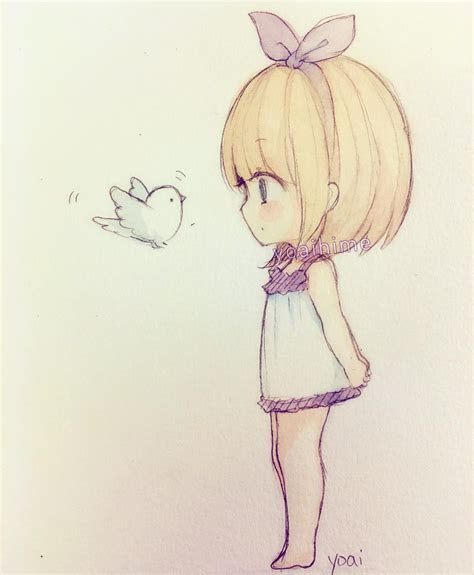 cute anime drawing images