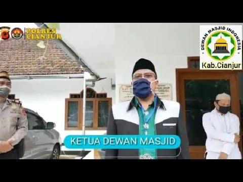 Himbauan Ketua DMI Kab.Cianjur Cegah Covid-19