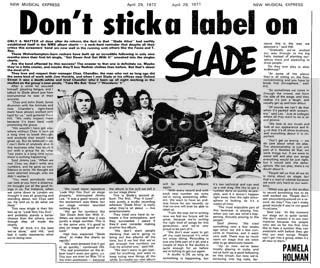 NME Label text