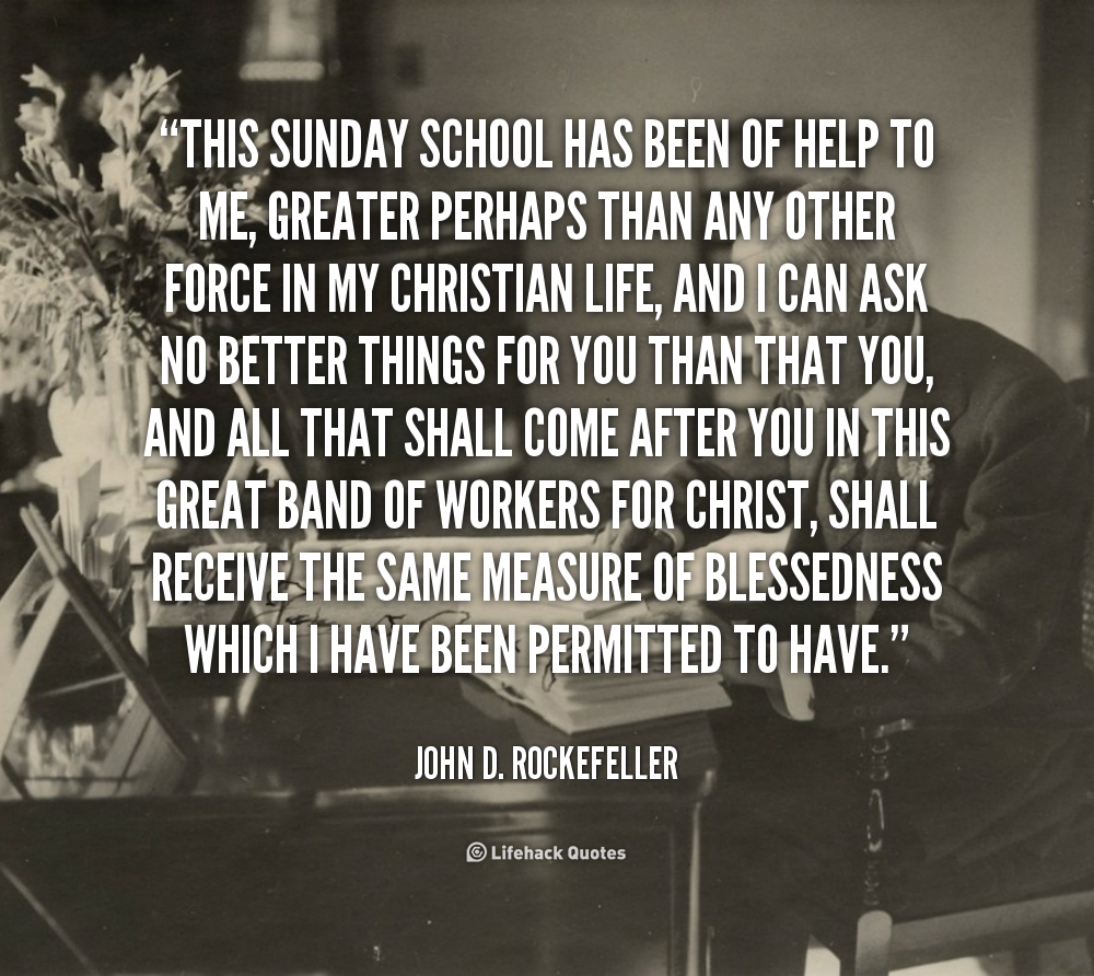 John D Rockefeller Quote On Education