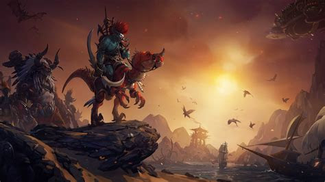 wallpaper world  warcraft escalation artwork games