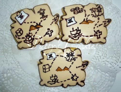 treasure map by pattycookies