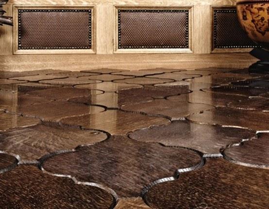 Wooden Floor Tiles Parquet And Tiles Pattern