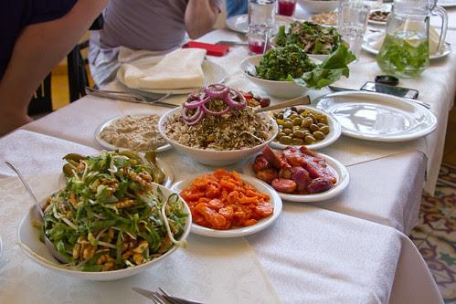 Arab lunch @ Haj Kahil, Jaffa, Israel