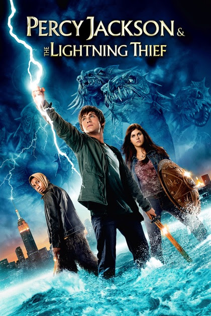 Image result for percy jackson and the lightning thief MOVIE POSTER