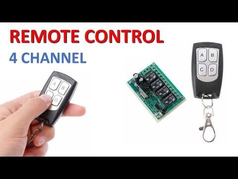 Remote Control 4 Channel Tanpa Arduino