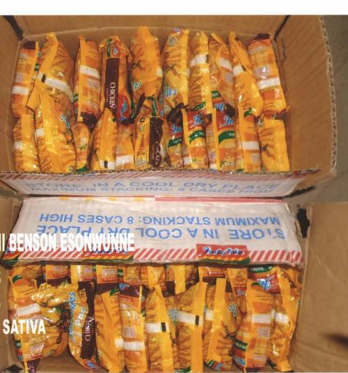 Dry Chicken Noodles Used To Smuggle Drugs Through Enugu Airport, NDLEA Says
