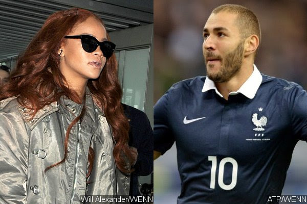 Rihanna Spotted Having Romantic Dinner With Rumored Boyfriend Karim Benzema
