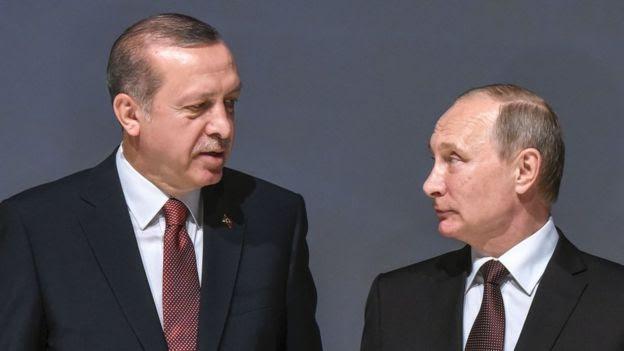 Erdogan e Putin