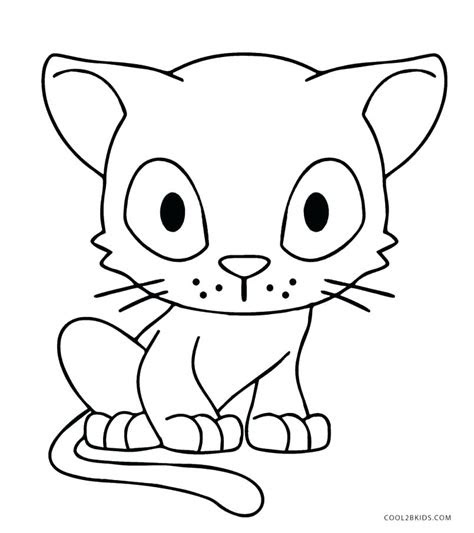 realistic cat coloring pages  getcoloringscom