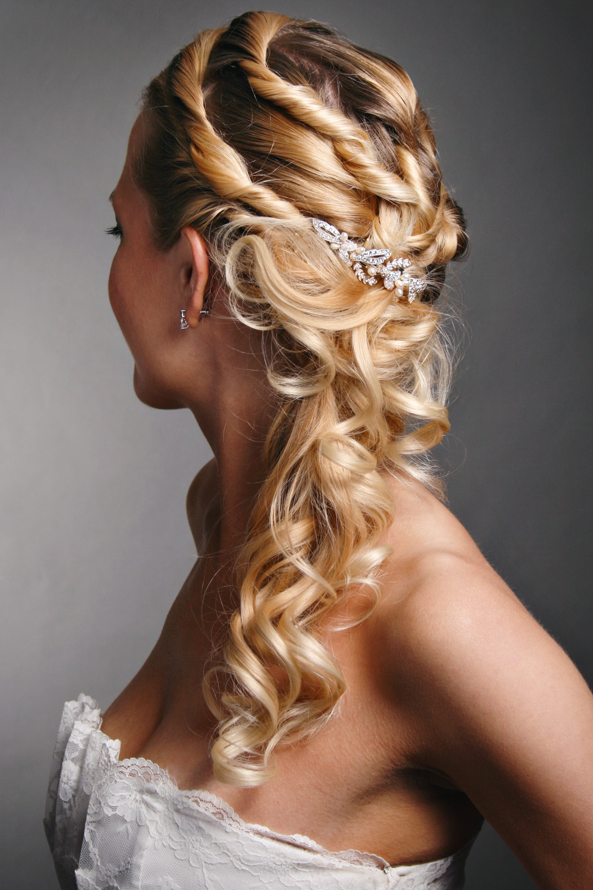 Ponytail Wedding Hairstyles For Long Hair Side Weddings Keeps This