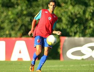 Lorran treino Flamengo (Foto: VIPCOMM)