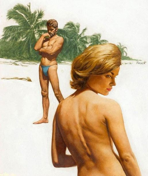Lovers On A Beach