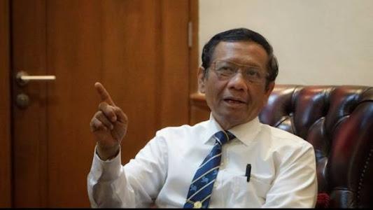 Diperiksa KPK, Mahfud MD ke Novel Baswedan: Kalau Saya Presiden, Anda Jaksa Agung