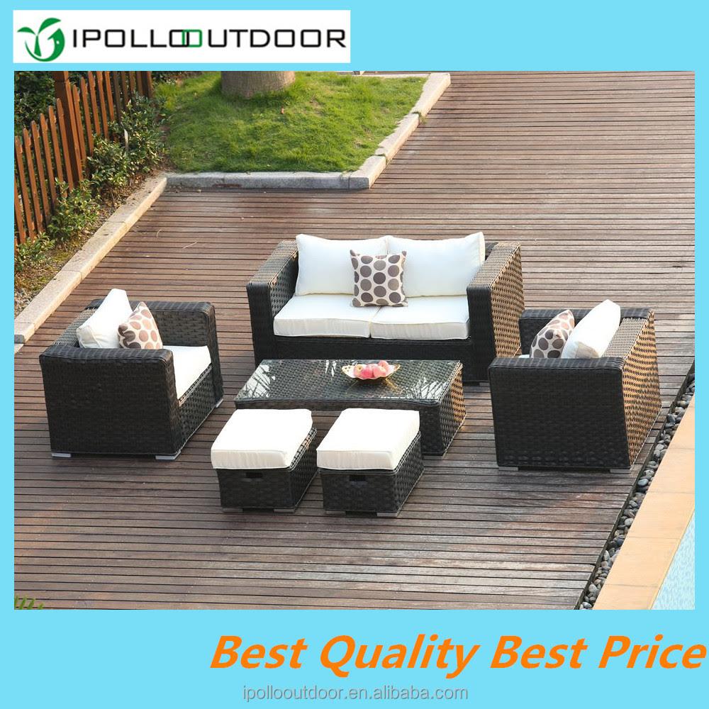 Alibaba High Quality 6 Seater Rattan Sofa Wire Furniture ...