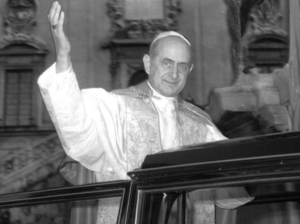 Papa Paolo VI nel 1966 (foto Ansa)
