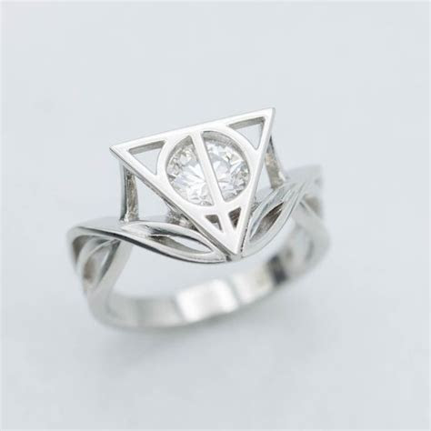 Geeky Engagement Rings   Nerdy Wedding Bands   CustomMade.com