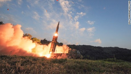 Bring it on! South Korea simulates strikes to destroy N.Korea following Nuclear test and Trump's criticism