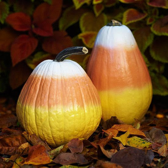 Pumpkin Candy Corn!! omg.