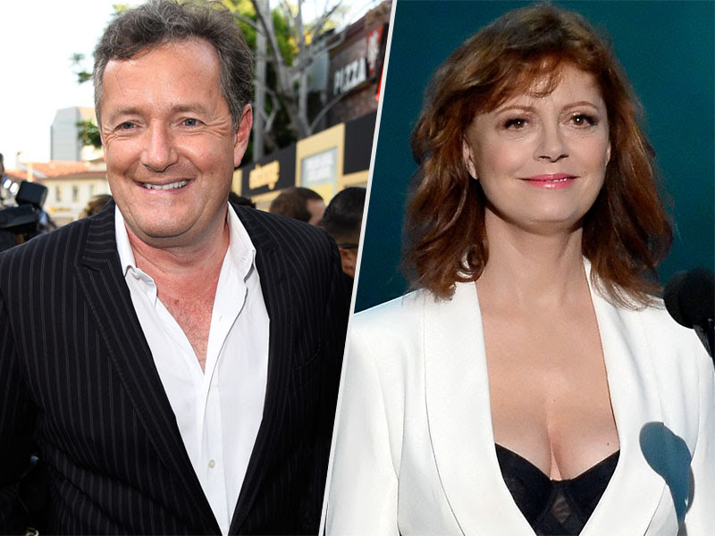 Piers Morgan and Susan Sarandon Are Having a Battle of the Boobs Via Twitter
