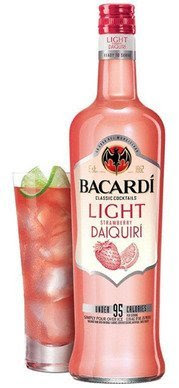 BACARDI Classic Cocktails Light, BACARDI Light Strawberry Daiquiri