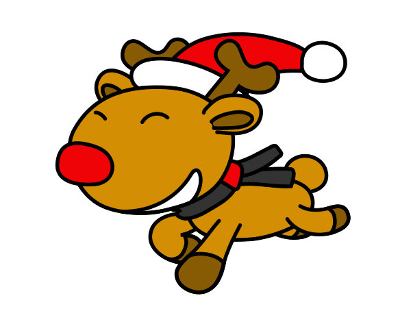 Dibujos Coloreados De Navidad Cool Trendy Cool Felices Los Nios De