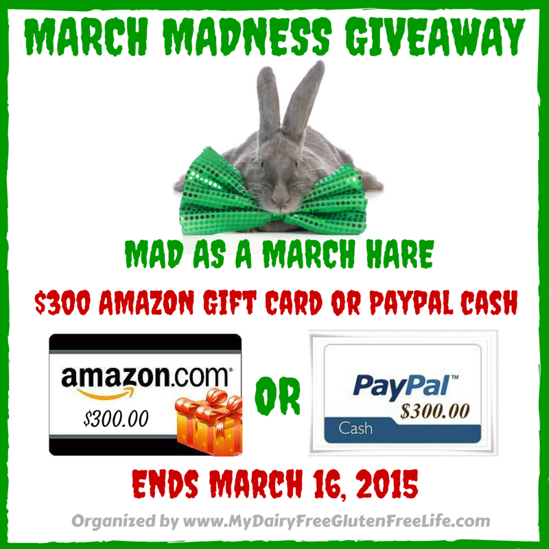 $300 Amazon or PayPal March Madness Giveaway