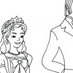 Dibujos De Princesa Sofia Para Colorear A Lapiz A Color