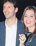 Claudia Pandolfi e Massimiliano Virgili, sposi nel 1990  per 75 giorni