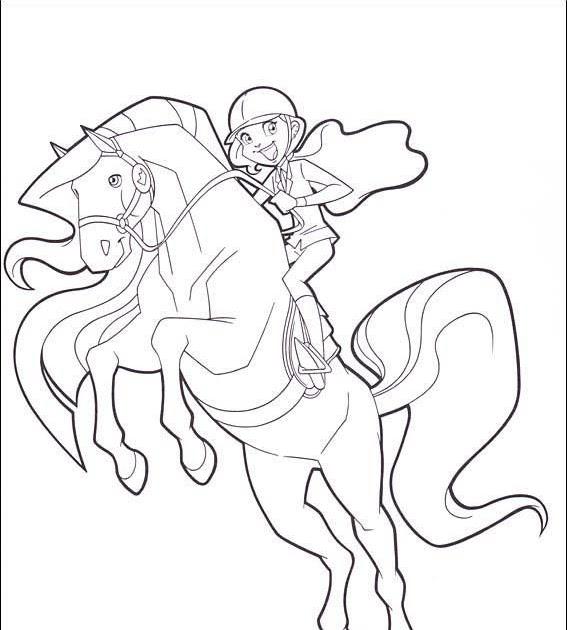 malvorlagen pferde horseland  amorphi