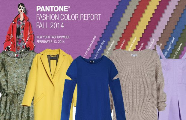 Trendy Colors Fall Winter 2014/2015