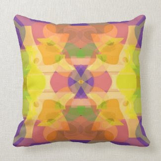 Tableaux American MoJo Pillow throwpillow