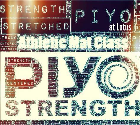 piyo class turbo kick  piyo piyo strength excercise