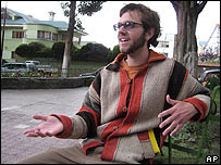 "John van Schaick, estudiante ""Fulbright"""