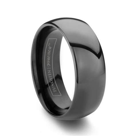 black mens wedding bands ideas