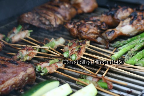 Grilled Asparagus Bacon Skewers 2