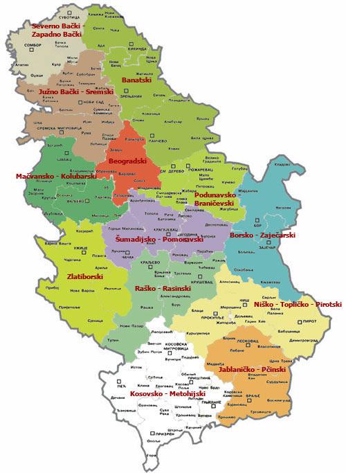 karta srbije geografska  karta srbije geografska