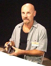 Photo of Jim Starlin at the Wizard World comic...