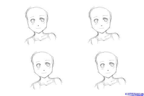 draw anime hair  girls step  step anime hair