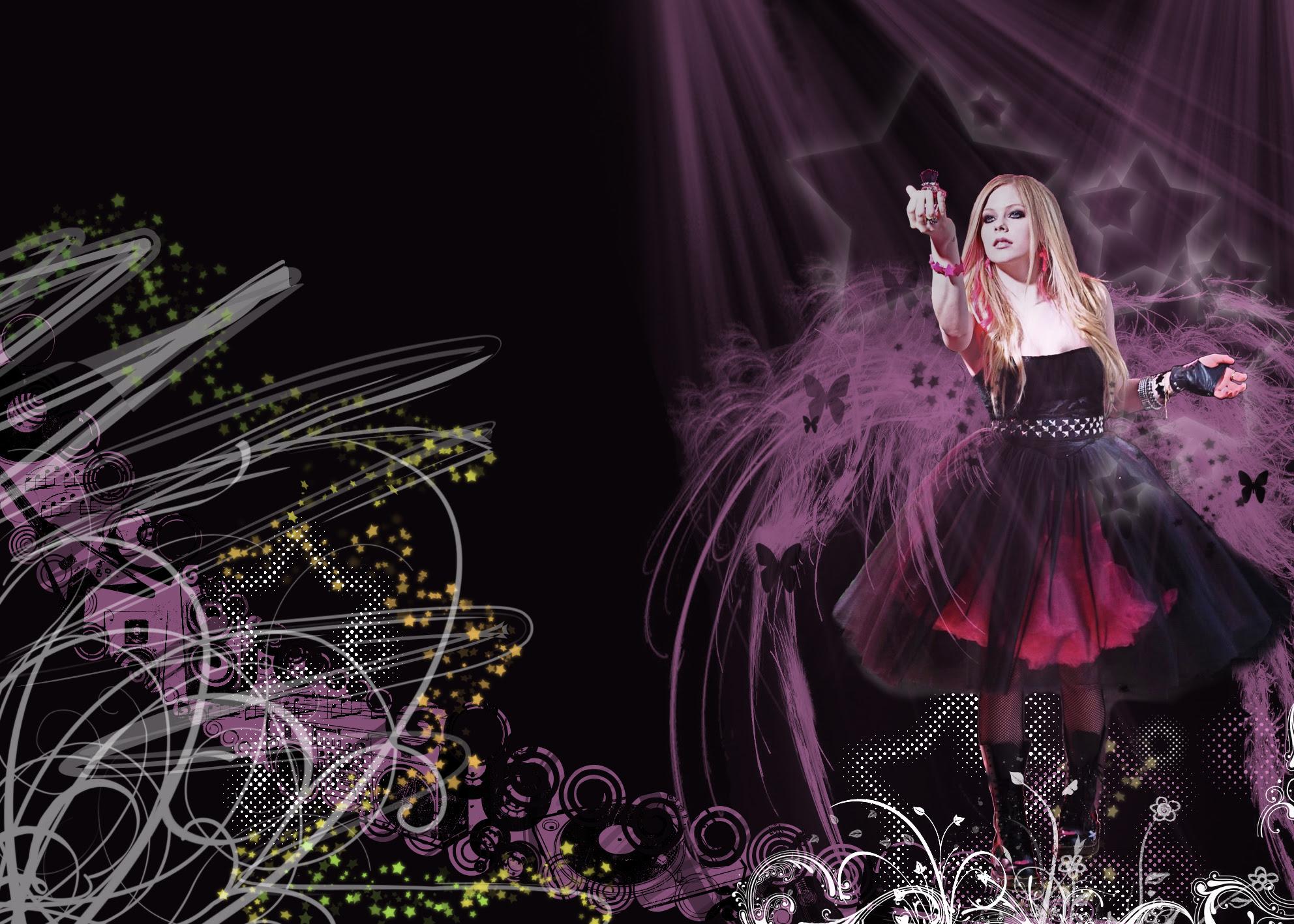 Avril Lavigne Black Star Wallpaper Avril Lavigne Photo 11905667