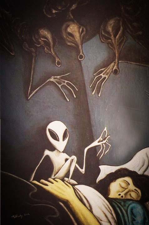 Parálisis sueño extraterrestres