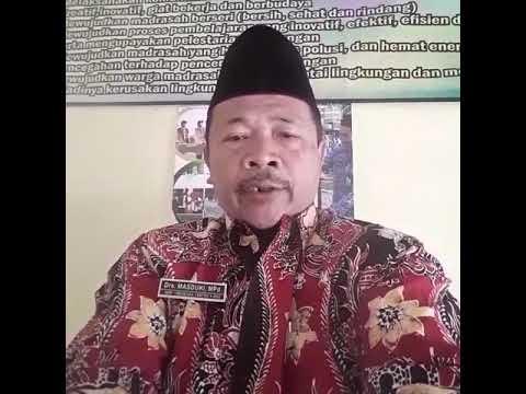 Ucapan Selamat Datang dari Bapak Drs. Masduki, M.Pd. MTs N 6 Nganjuk