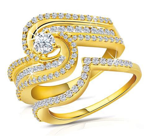 Latest World Fashions: Engagement Gold Rings