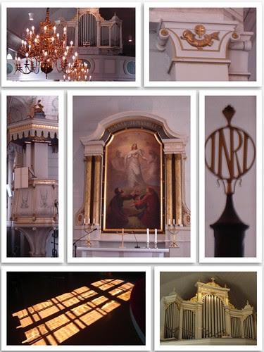 Iisalmen vanha kirkko by Anna Amnell