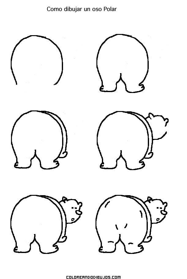 Como Dibujar A Un Oso Polar